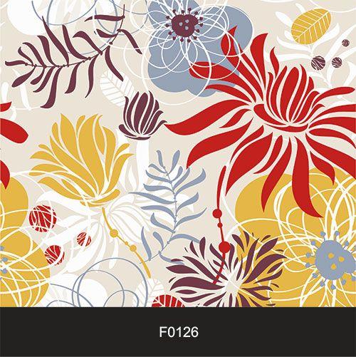 Papel de Parede Adesivo Lavável Floral Tropicalia F0126  - Final Decor