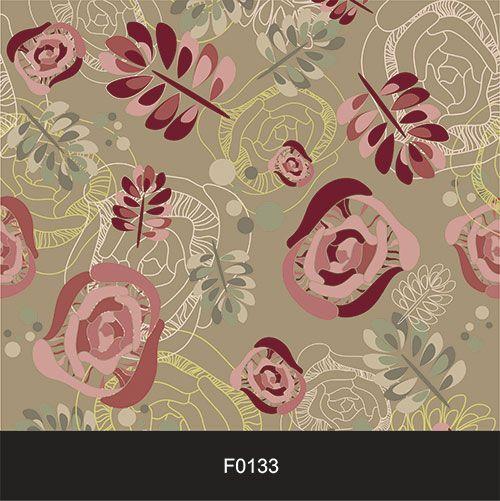 Papel de Parede Adesivo Lavável Floral Folhas Moderno F0133  - Final Decor