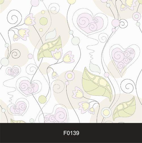 Papel de Parede Adesivo Lavável f0139 Floral Flor coração Clean  - Final Decor