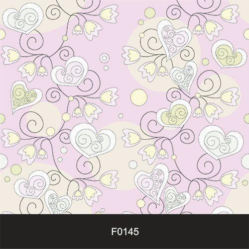 Papel de Parede Adesivo Lavável f0145 Floral Coração Rosa  - Final Decor