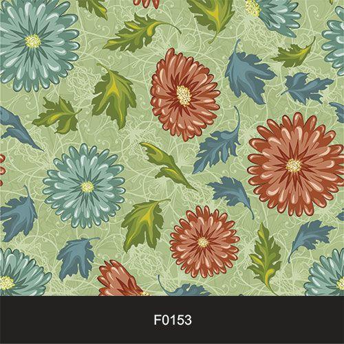Papel de Parede Adesivo Lavável Floral Vintage Retrô F0153  - Final Decor