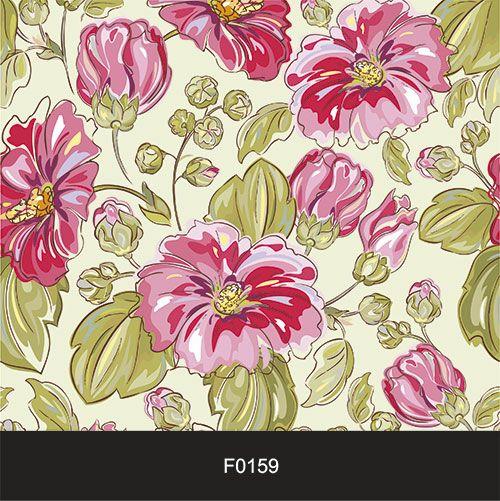 Papel de Parede Adesivo Lavável f0159 Floral Rosas  - Final Decor