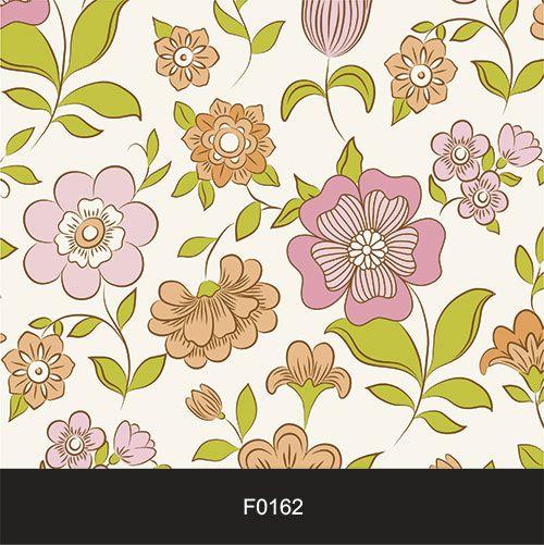 Papel de Parede Adesivo Lavável f0162 Floral Gif  - Final Decor