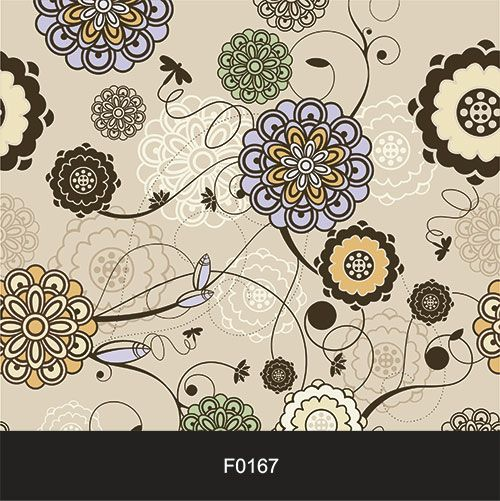 Papel de Parede Adesivo Lavável Floral Ponto F0167  - Final Decor