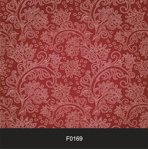 Papel de Parede Adesivo Lavável f0169 Floral Clássico  - Final Decor
