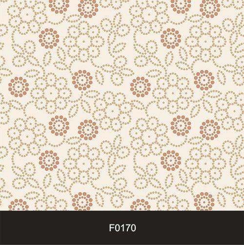 Papel de Parede Adesivo Lavável f0170 Floral Clássico Claro  - Final Decor