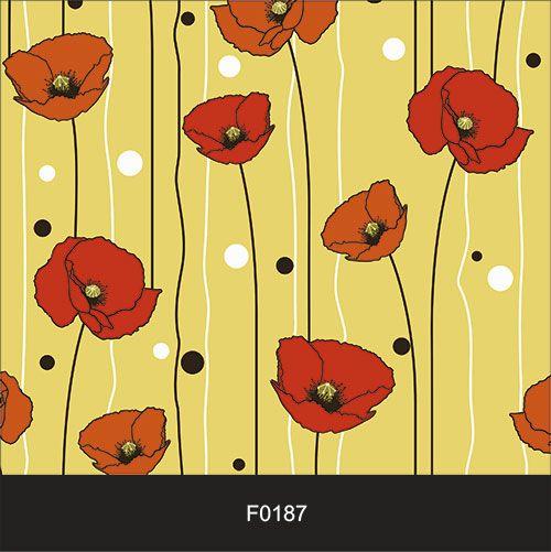 Papel de Parede Adesivo Lavável f0187 Floral Delicado  - Final Decor
