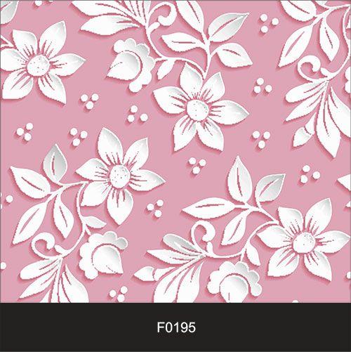Papel de Parede Adesivo Lavável f0195 Floral Magenta  - Final Decor
