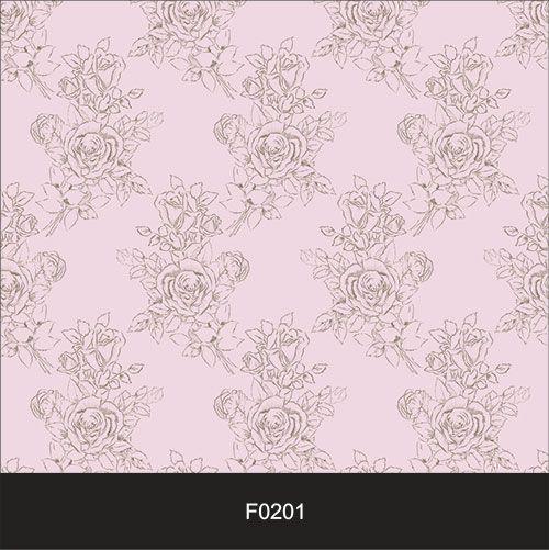 Papel de Parede Adesivo Lavável f0201 Floral Clássico Rosa  - Final Decor