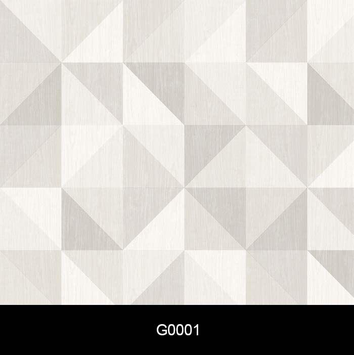 Papel de Parede Auto Adesivo Geométricos Triângulo Cinza G0001   - Final Decor