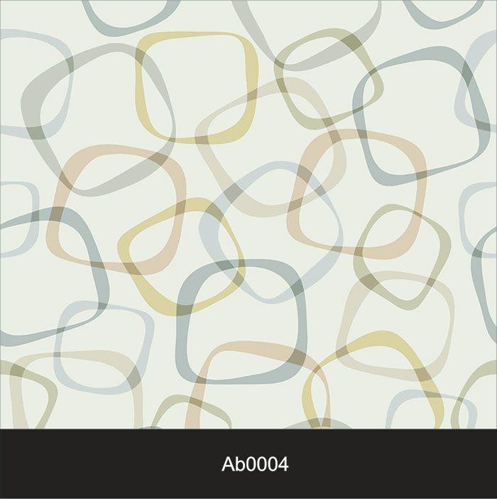 Papel de Parede Auto Adesivo Lavável Abstrato ab0004 Quadrado Sobreposto  - Final Decor