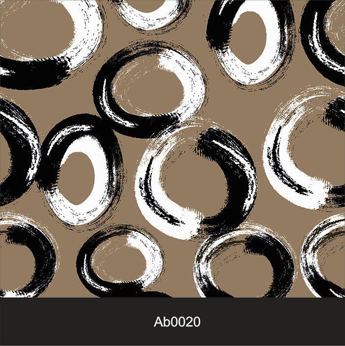 Papel de Parede Auto Adesivo Lavável Abstrato Pincelado Marrom AB0020  - Final Decor