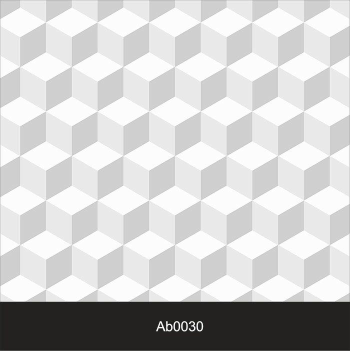 Papel de Parede Auto Adesivo Lavável Abstrato Revestimento 3d Branco AB0030  - Final Decor