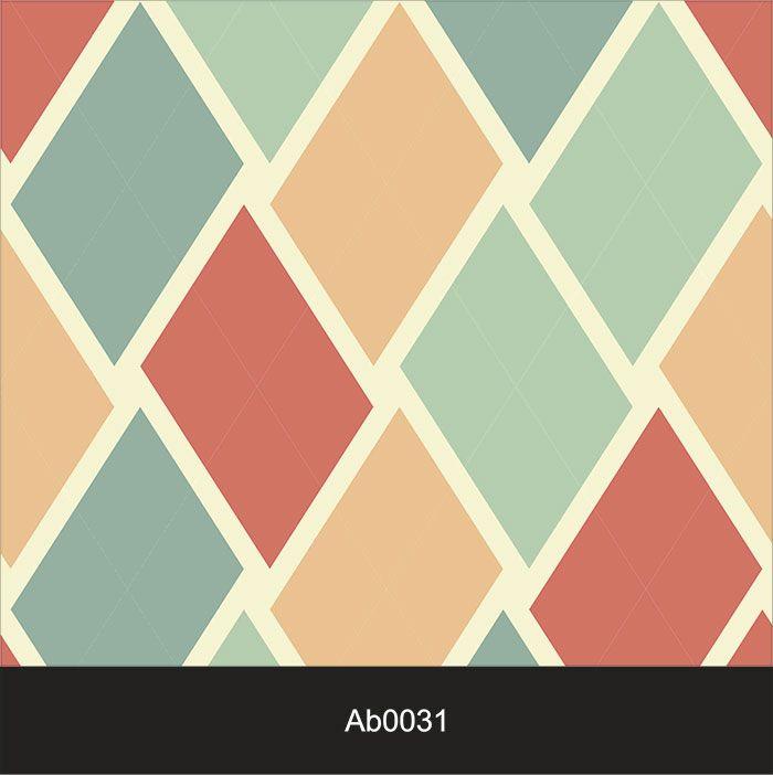 Papel de Parede Auto Adesivo Lavável Abstrato Xadrez AB0031  - Final Decor