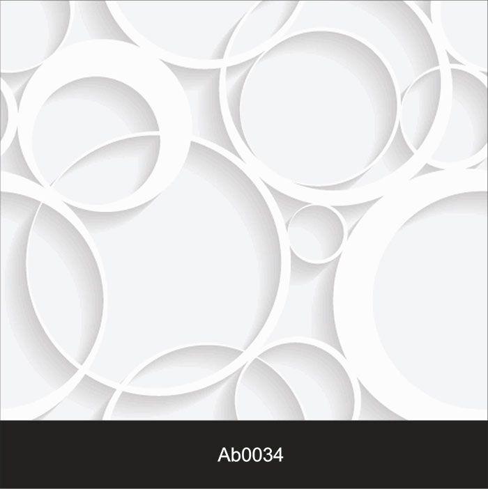 Papel de Parede Auto Adesivo Lavável Abstrato ab0034 Circulos 3d  - Final Decor