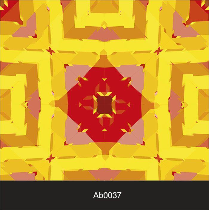 Papel de Parede Auto Adesivo Lavável Abstrato Losango Quadrado AB0037   - Final Decor