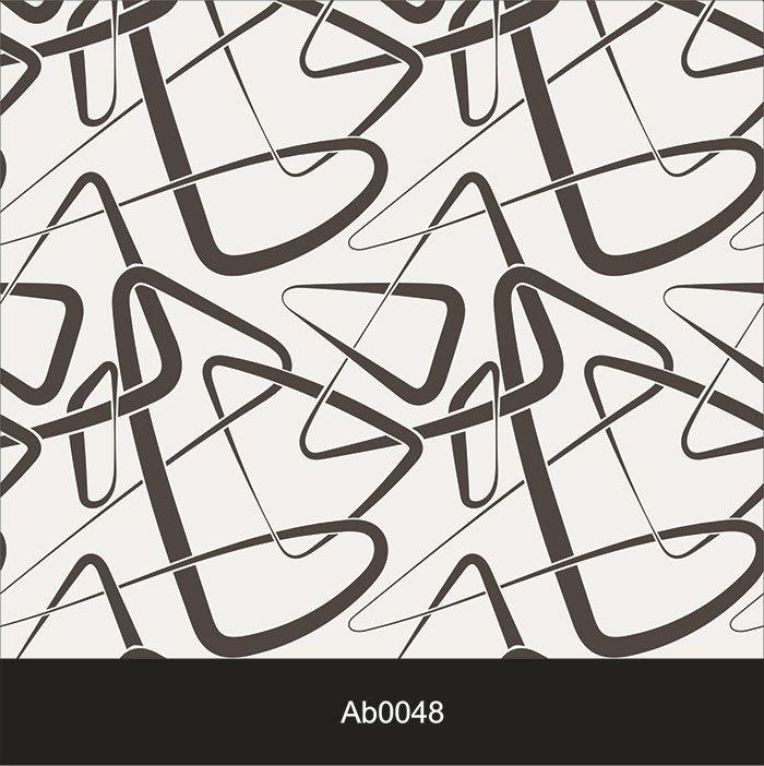 Papel de Parede Auto Adesivo Lavável Abstrato ab0048 Rabisco Moderno  - Final Decor