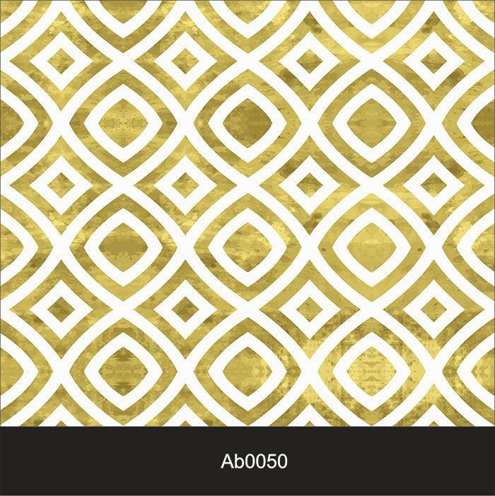 Papel de Parede Auto Adesivo Lavável Abstrato Losango Claro AB0050  - Final Decor