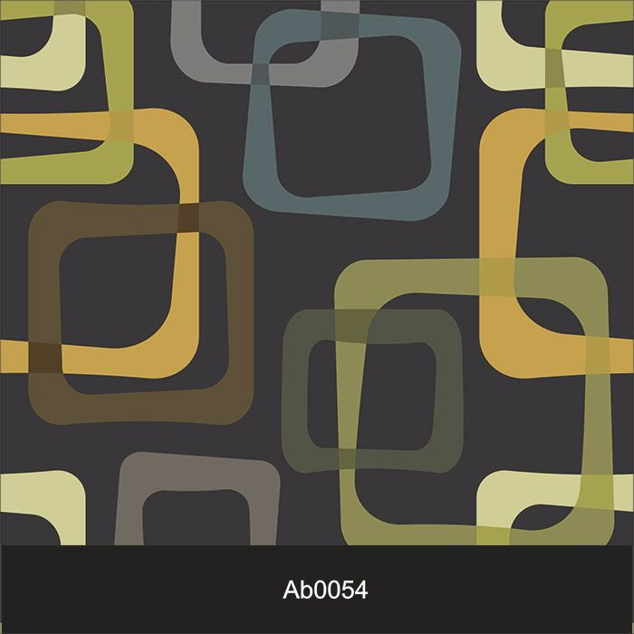 Papel de Parede Auto Adesivo Lavável Abstrato Quadrados Escuro AB0054  - Final Decor