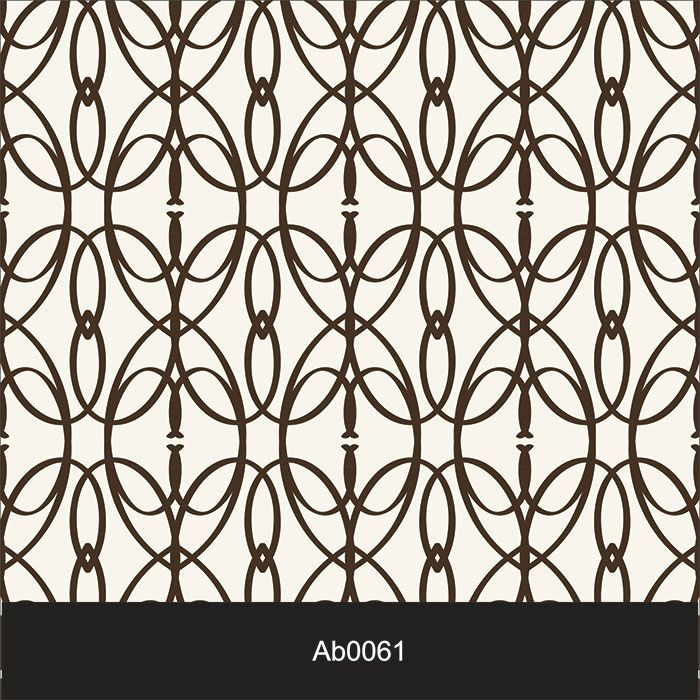 Papel de Parede Auto Adesivo Lavável Abstrato ab0061 Gradeado Marrom  - Final Decor
