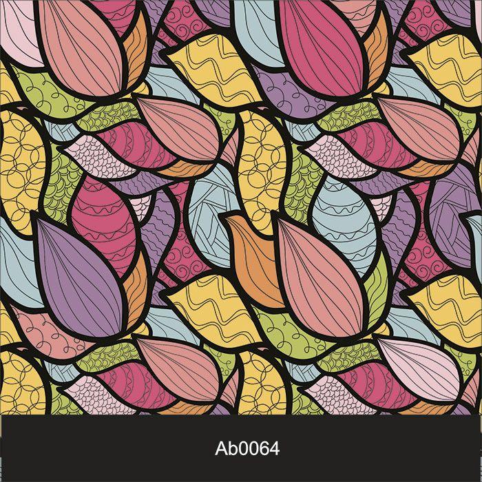Papel de Parede Auto Adesivo Lavável Abstrato Mosaico Colorido AB0064  - Final Decor