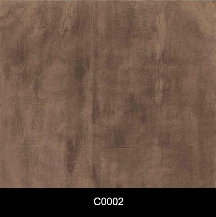 Papel de Parede Auto Adesivo Lavável Cimento Queimado C0002 Marrom Escuro  - Final Decor