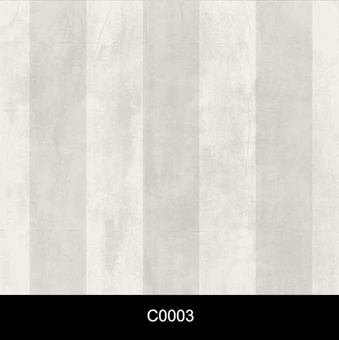 Papel de Parede Auto Adesivo Lavável Cimento Queimado Listrado Cinza C0003  - Final Decor