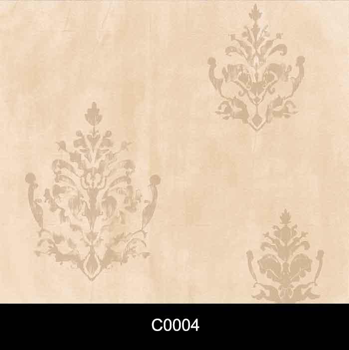 Papel de Parede Auto Adesivo Lavável Cimento Queimado Arabesco Clássico C0004  - Final Decor