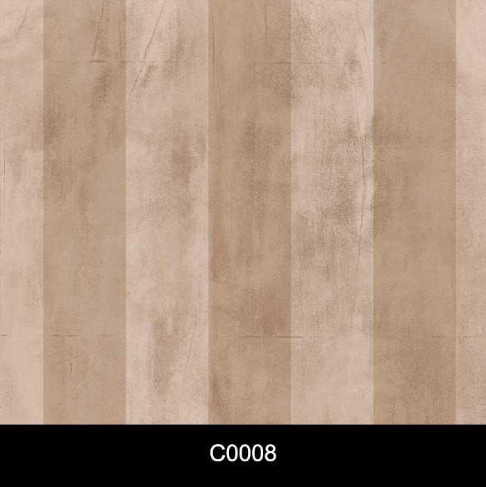 Papel de Parede Auto Adesivo Lavável Cimento Queimado C0008 Listrado marrom  - Final Decor