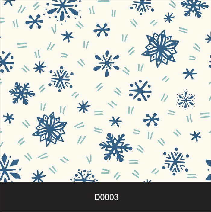 Papel de Parede Auto Adesivo Lavável Diversos Neve D0003  - Final Decor