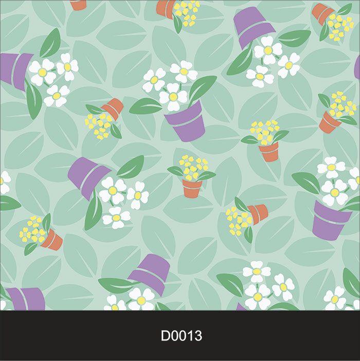 Papel de Parede Auto Adesivo Lavável Diversos d0013 Violetas  - Final Decor