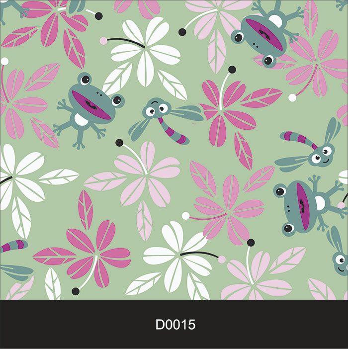 Papel de Parede Auto Adesivo Lavável Diversos d0015 Flor Violeta  - Final Decor