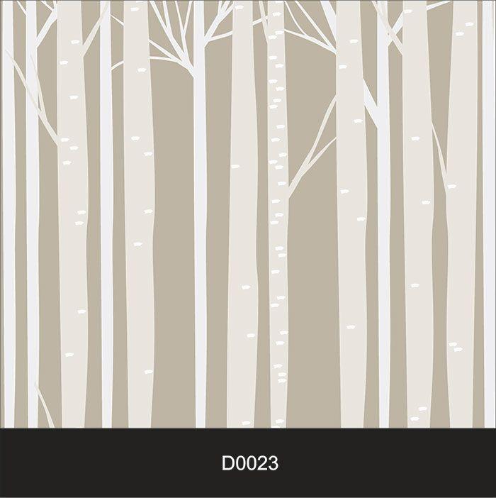 Papel de Parede Auto Adesivo Lavável Diversos d0023 Tronco Selva  - Final Decor