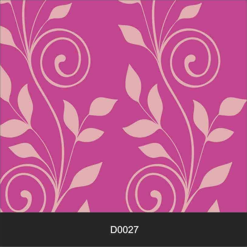 Papel de Parede Auto Adesivo Lavável Diversos d0027 Rosa  - Final Decor