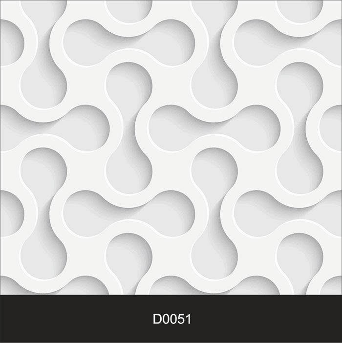 Papel de Parede Auto Adesivo Lavável Diversos d0051 Efeito 3d  - Final Decor