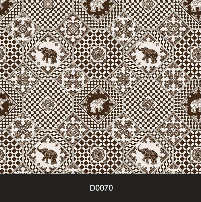 Papel de Parede Auto Adesivo Lavável Diversos d0070 Elefantes de Cozinha  - Final Decor
