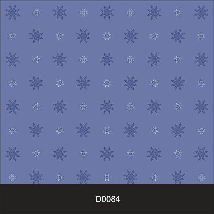 Papel de Parede Auto Adesivo Lavável Diversos Delicado Azul D0084  - Final Decor