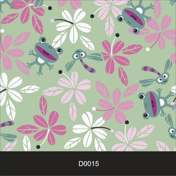 Papel de Parede Auto Adesivo Lavável Diversos Flor Violeta D0015  - Final Decor