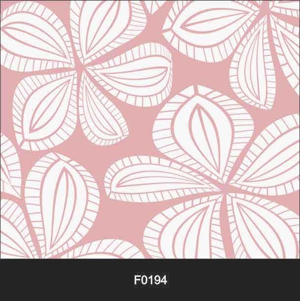 Papel de Parede Adesivo Lavável Floral Rosa F0194  - Final Decor