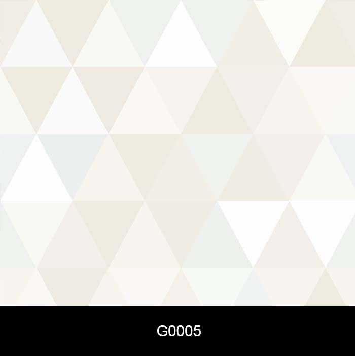 Papel de Parede Auto Adesivo Lavável Triângulo Cinza Claro e Azul Bebe G0005   - Final Decor