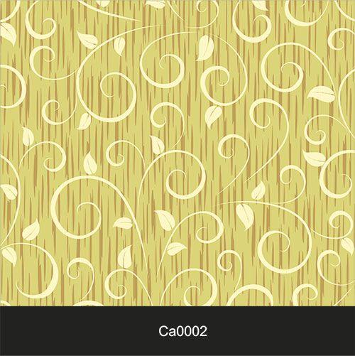 Papel de Parede Lavável Clássico Arabesco ca0002 Amarelo  - Final Decor
