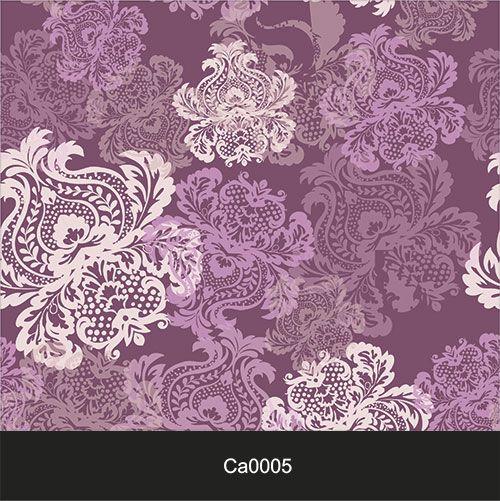 Papel de Parede Lavável Clássico Arabesco Violeta CA0005  - Final Decor