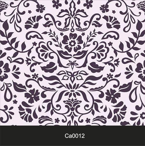 Papel de Parede Lavável Clássico Arabesco Violeta CA0012  - Final Decor