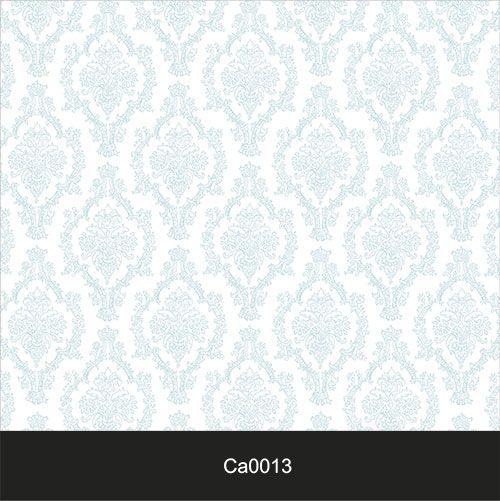 Papel de Parede Lavável Clássico Arabesco ca0013 Azul Claro  - Final Decor
