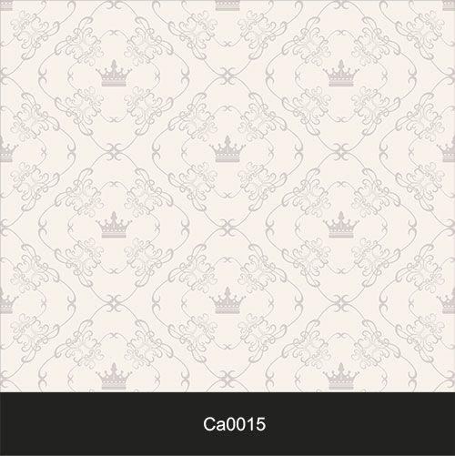 Papel de Parede Lavável Clássico Arabesco ca0015 Coroa  - Final Decor