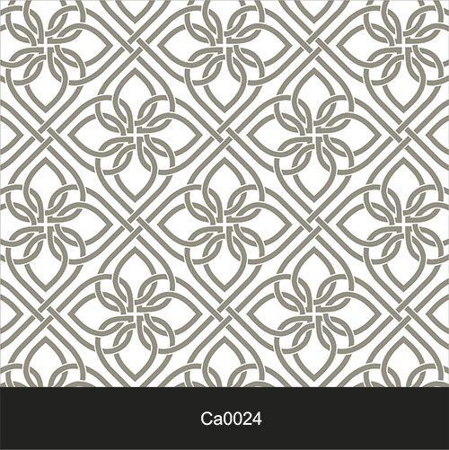 Papel de Parede Lavável Clássico Arabesco ca0024 Cinza  - Final Decor