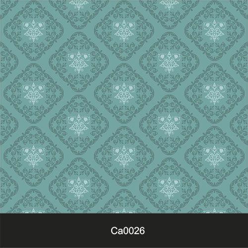 Papel de Parede Lavável Clássico Arabesco ca0026 Verde Tiffany  - Final Decor