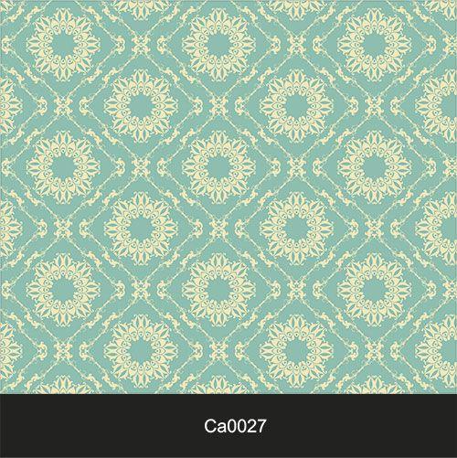 Papel de Parede Lavável Clássico Arabesco ca0027 Azul Vintage  - Final Decor