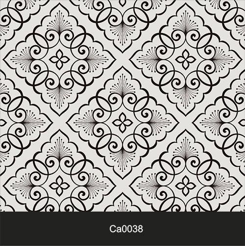 Papel de Parede Lavável Clássico Arabesco Vintage Retro CA0038  - Final Decor