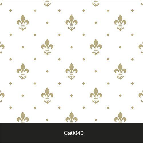 Papel de Parede Lavável Clássico Arabesco ca0040 Imperial Delicado  - Final Decor